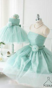 Family look комплект для мамы и дочки Tiffany