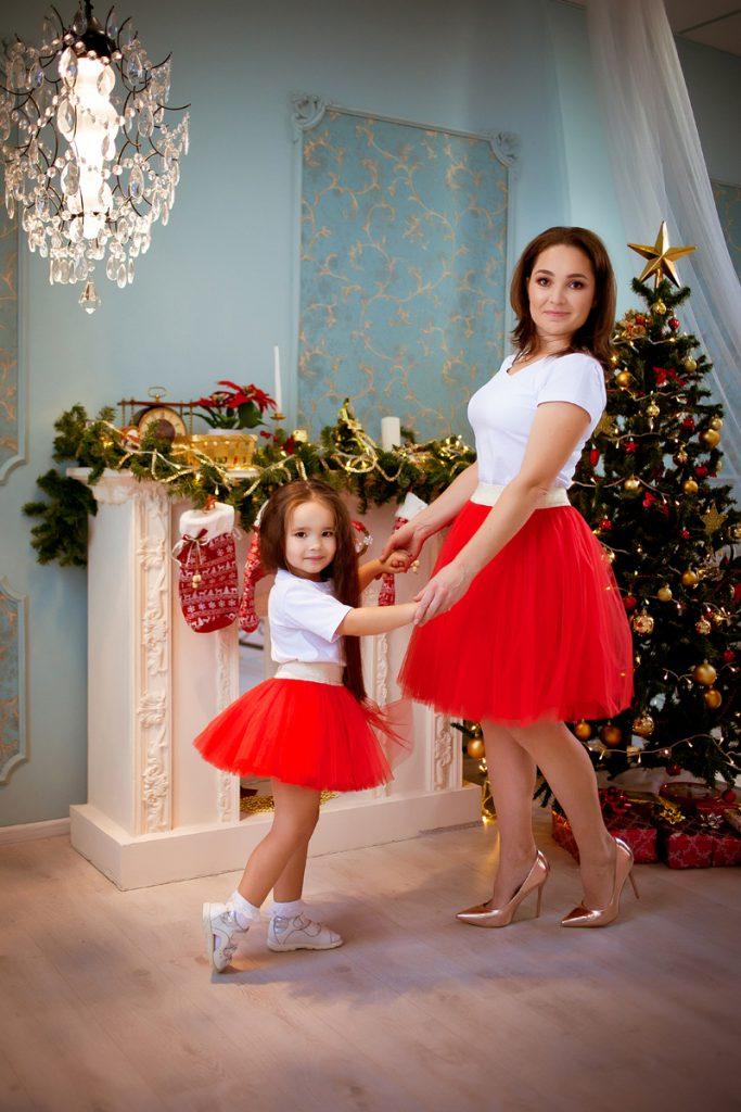 фатиновые юбки для мамы и дочки прокат Екатеринбург
