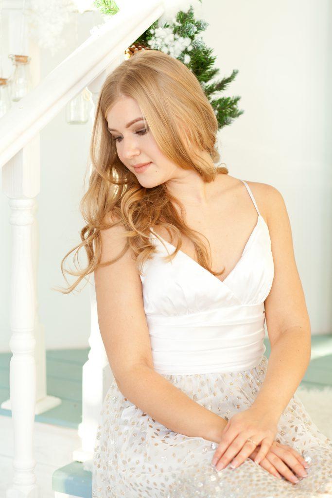 прокат белого платья